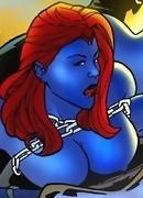 Horny Marvel Super Heroes