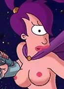 Dr. Zoidberg transfors to a screws a sexy Amy in tshirt