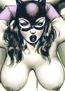 CatWoman was fucked by erected dick